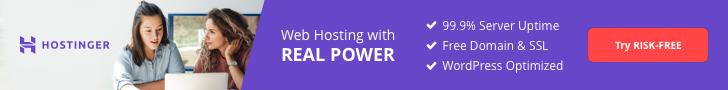 Hostinger hosting plans