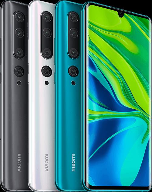 5. Xiaomi MI Note 10 Pro (February 27, 2020)