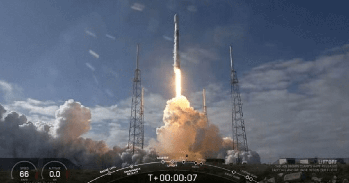 SpaceX 60 Starlink Satellites Launch Result