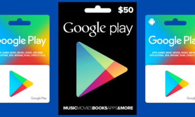 Free Google Play Codes and Gift Cards