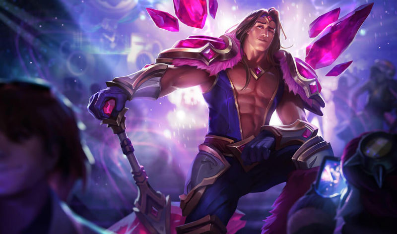 Armor of the Fifth Age Taric - League of Legends Champion Skin