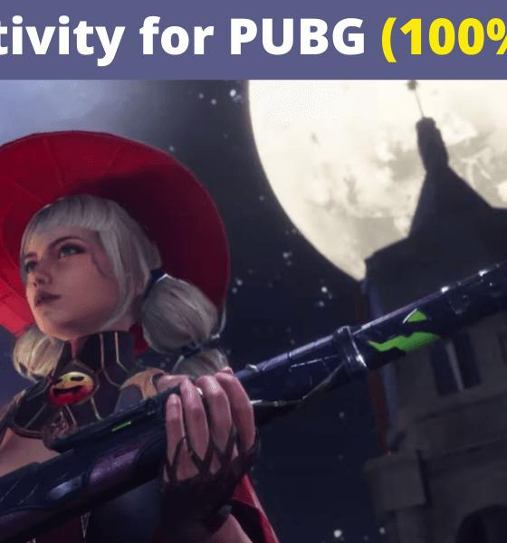 Best Sensitivity Settings for PUBG Mobile